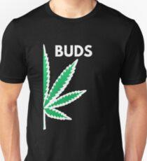 Best Buds Matching Couples Marijuana Leaf Shirts Buds T-Shirt