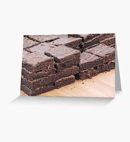Brownies Are Best Greeting Card