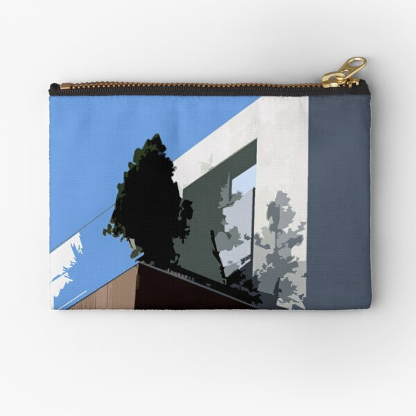 Rough Roof 7 Zipper Pouch