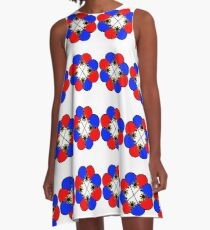 PINOY FLOWER A-Line Dress