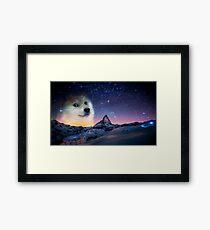 Doge sky Framed Print