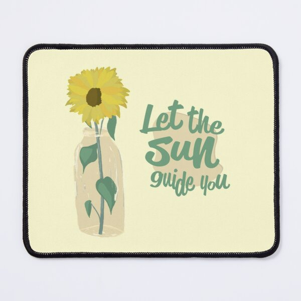 Sunflower Inspiration Mouse Pad