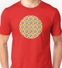 Heraldic Quartrefoil Chequers Unisex T-Shirt