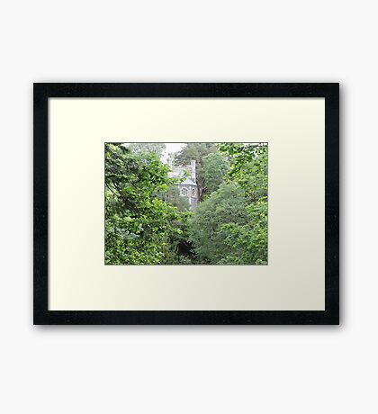 I Can Let You Go Now Framed Print
