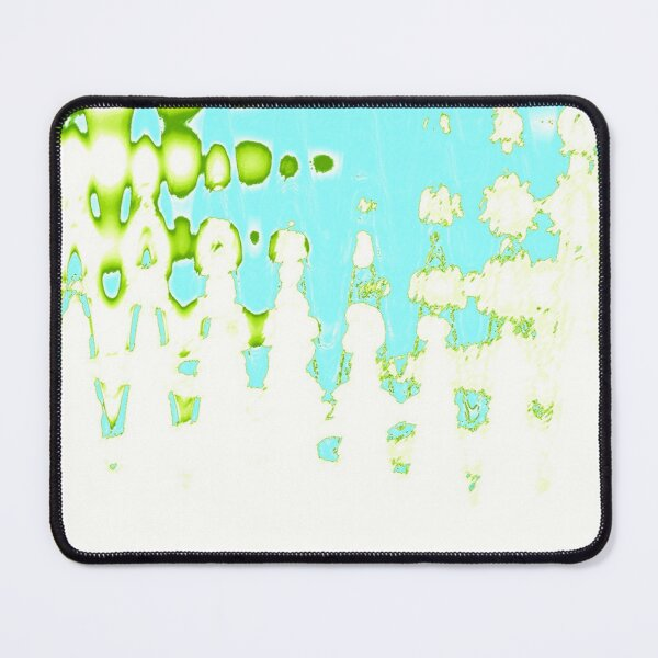 Lo-Fi Groovers Light Blue & Green Mouse Pad
