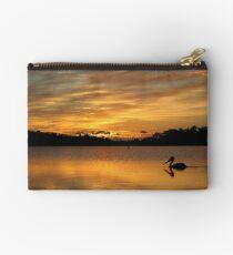 Sunrise over Narrabeen Lake + Pelican Studio Pouch