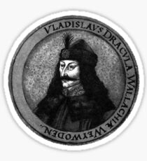 Vlad Dracula Tepes The Impaler Vampire Sticker