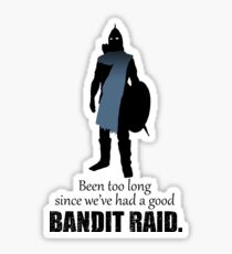 Skyrim Guard - Bandit Raid Sticker