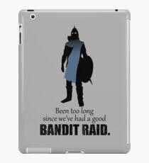 Skyrim Guard - Bandit Raid iPad Case/Skin