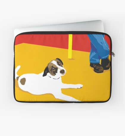 biding our time Laptop Sleeve