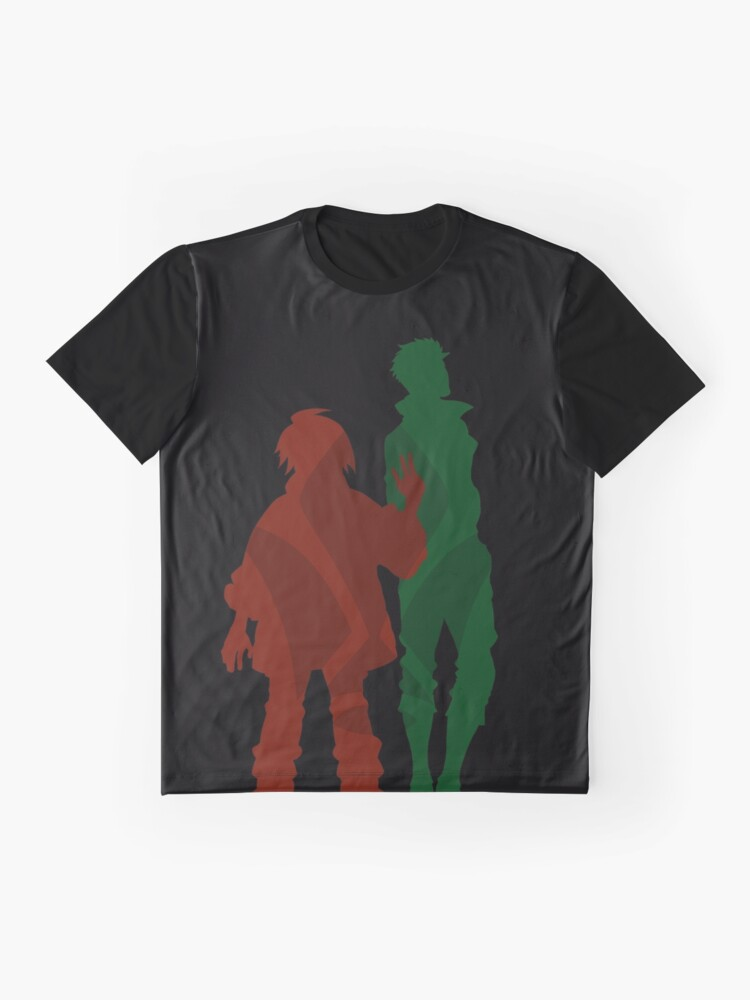 Alternate view of Mikazuki and Orga - MSG Iron Blooded Orphans Graphic T-Shirt