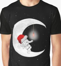 Time To Sleep - Santa Astronaut Graphic T-Shirt