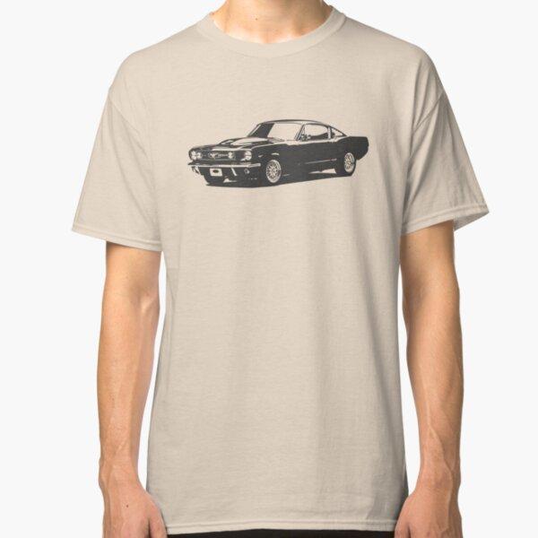 Mustang gris Camiseta clásica