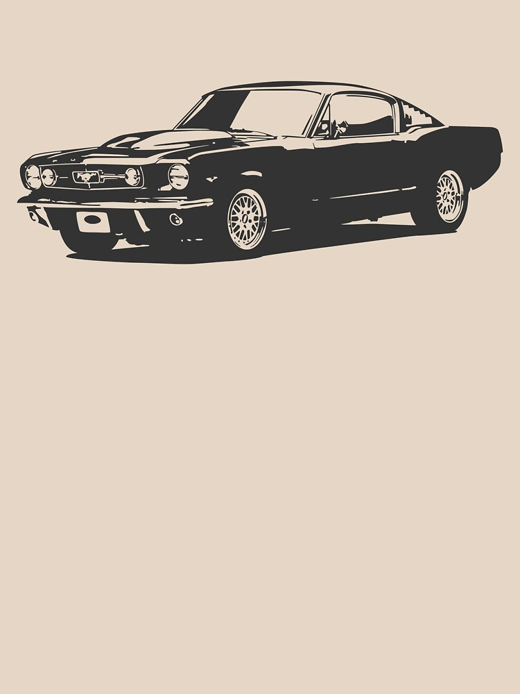 Mustang gris de medibu