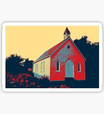 Moeraki Chapel Sticker
