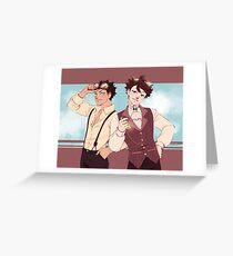 Steampunk - IwaOi Greeting Card