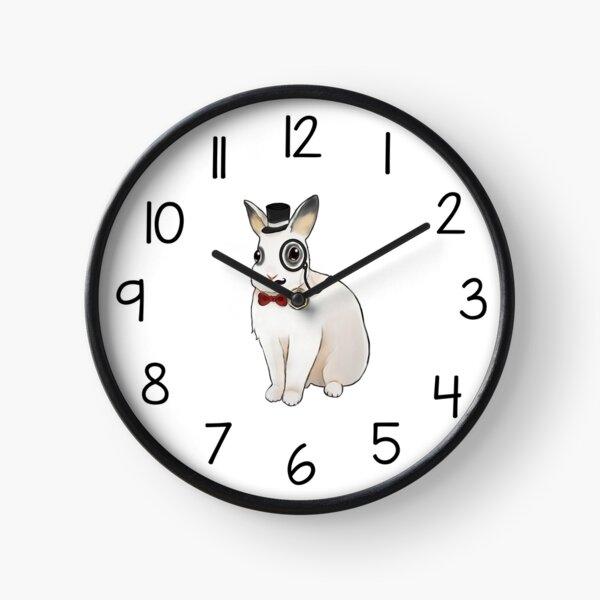 Cute Rabbit Clock