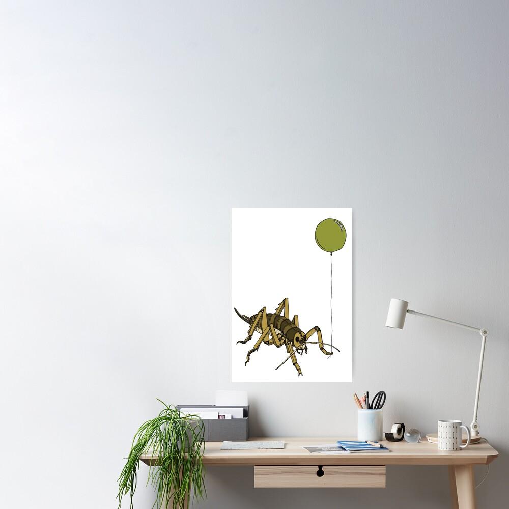 Kiwiautomaton - Wellington tree weta  Poster