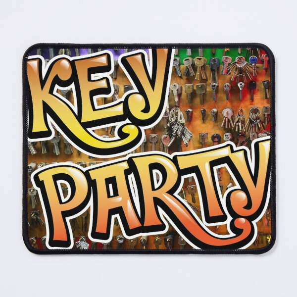 Key Party Mouse Pad