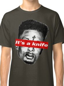 "21 Savage ""it's a knife"" Supreme Classic T-Shirt"