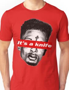 "21 Savage ""it's a knife"" Supreme Unisex T-Shirt"