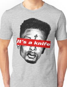 "21 Savage ""it's a knife"" Supreme Unisex T-Shirt"