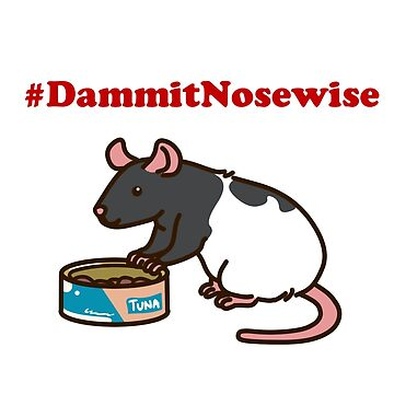 Nosewise - Facebook's Favourite Rat by KatieTaylor