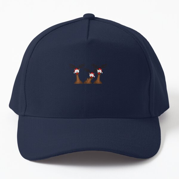 Christmas with Rudolph and the reindeer Baseball Cap