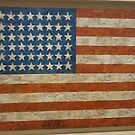 I Love America Flag by ART Gallery