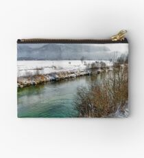 River Loisach - Germany Studio Pouch