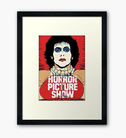Horror Picture Framed Print