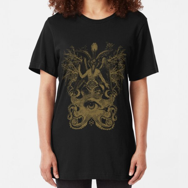 Baphomet Slim Fit T-Shirt