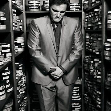 Quentin Tarantino by DrDecker