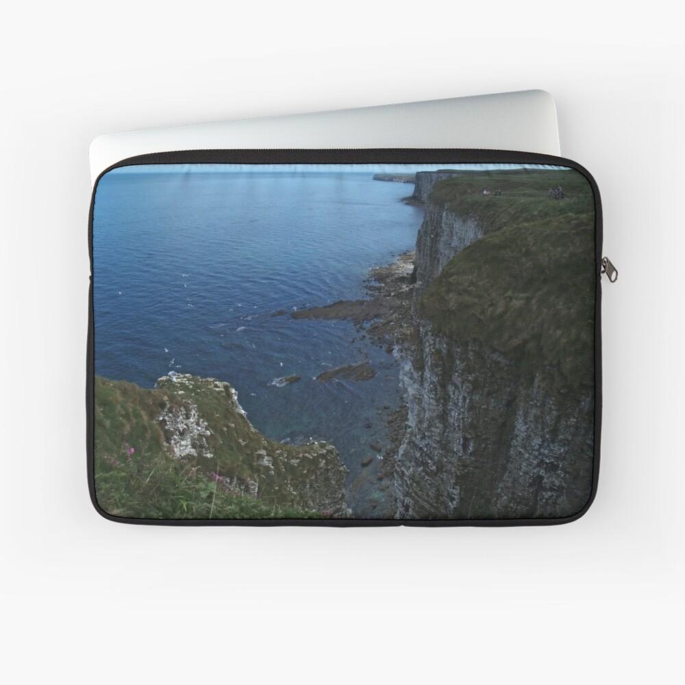 Bempton Cliffs Laptop Sleeve