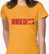 Haikyuu Nekoma Logo shirt Womens Fitted T-Shirt