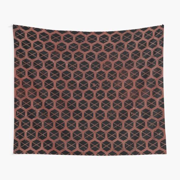 Titan Emblem [distressed black] Tapestry