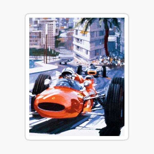 Monaco-F1 Coche Etiqueta De La Ventana-Monte Carlo Calcomanía fórmula Grand Prix circuito