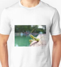 green praying mantis  Unisex T-Shirt