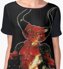 Lord of Darkness - What is light without dark? rev2 Chiffon Top