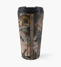 Stretching Portraits Travel Mug