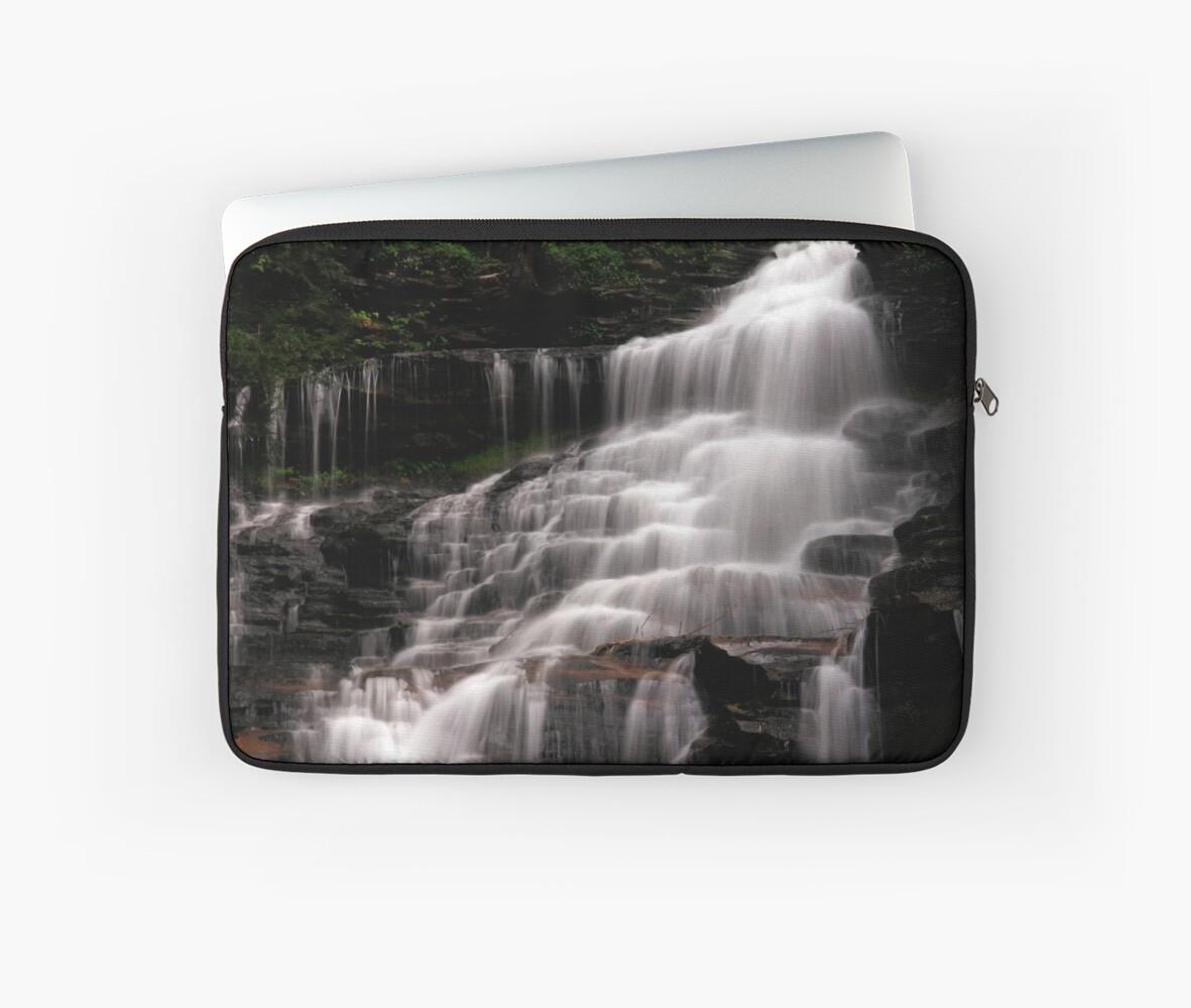 Upper Part of the Ganoga Waterfalls-Rickets Glen State Park by BigD