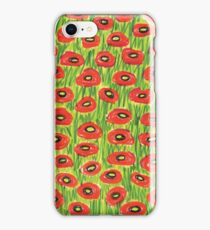 Poppyfield Pattern iPhone Case/Skin