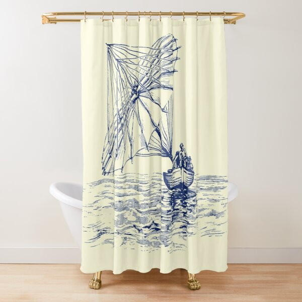 Schirmsegler Duschvorhang