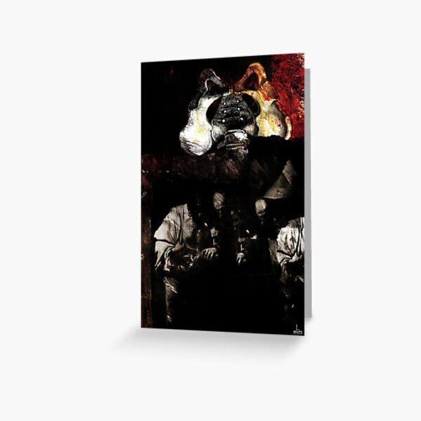 Believe - Collage with Caravaggio's painting Greeting Card