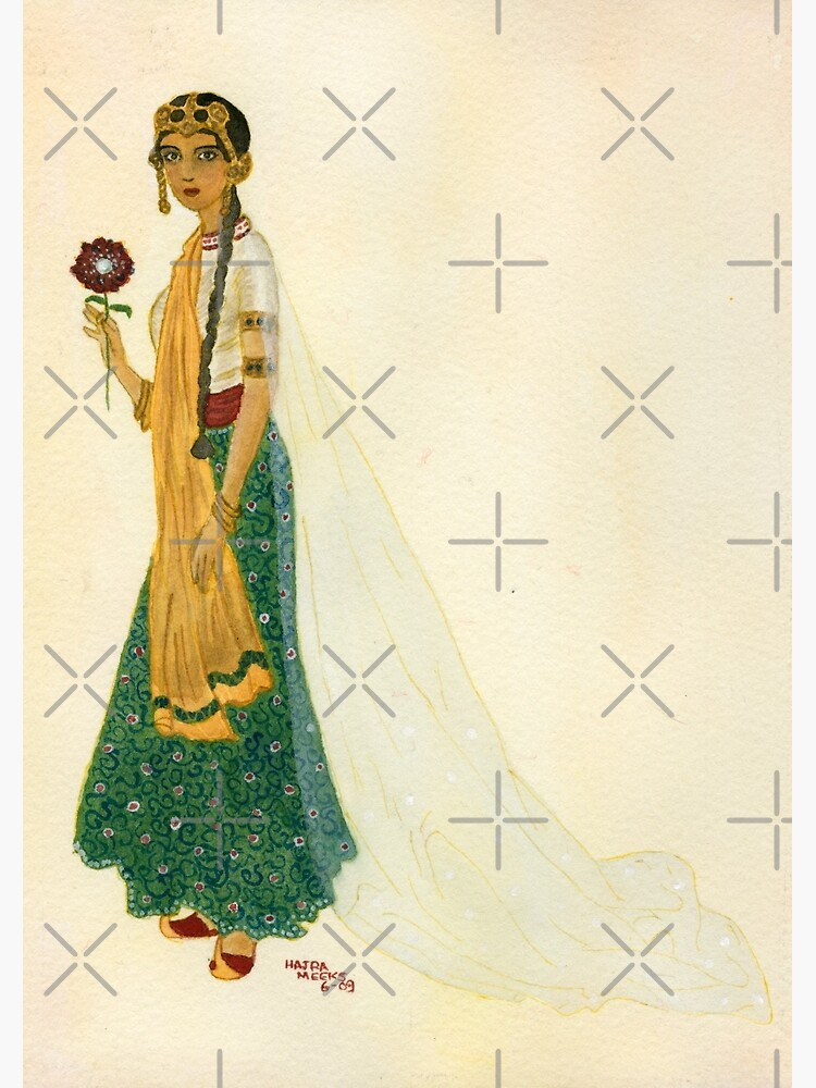 Exotic Princess on Ochre Wash  by HajraMeeks