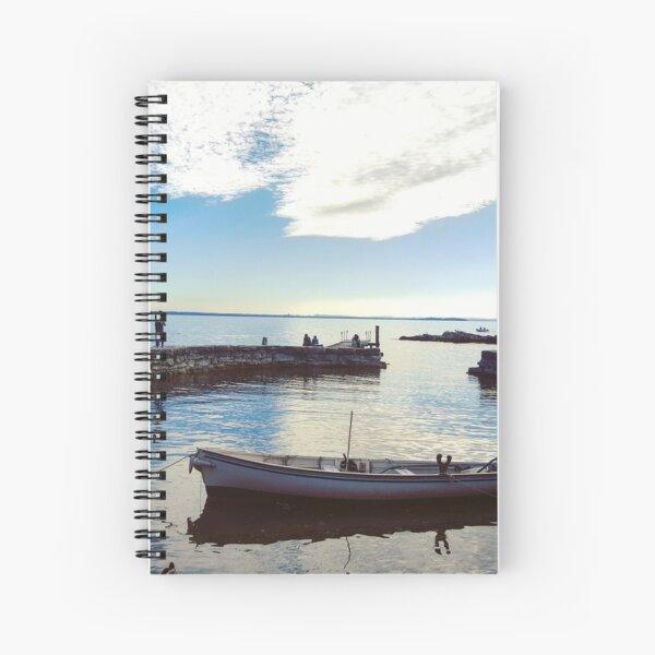 Garda lake Spiral Notebook