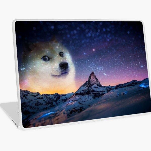 Doge sky Laptop Skin