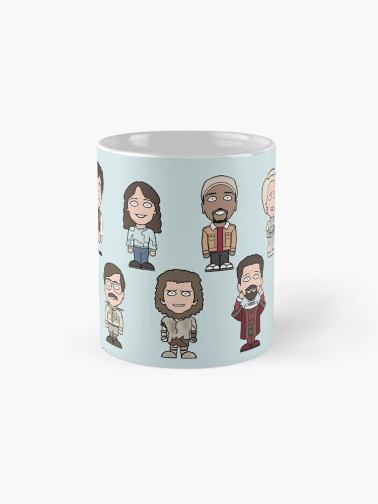 Alternate view of Team Ghosts Mug