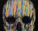 Psychedelic Skull by Michael Creese