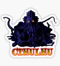CTHULHU BLUE HP LOVECRAFT Sticker